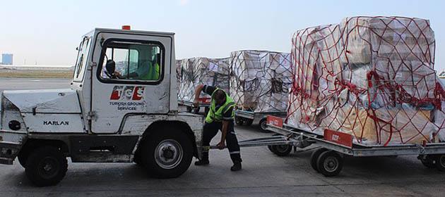 AFAD'dan Gazze'ye İnsani Yardım