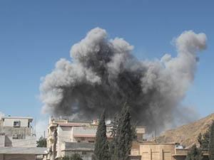 Halep'te Hava Saldırısı: 12 Kişi Hayatını Kaybetti