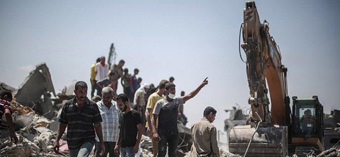 Gazze'de Şehit Sayısı Bin 943'e Yükseldi