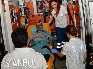 Gazzeli Üç Yaralı Daha Türkiye'de
