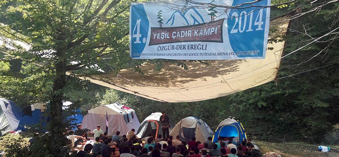 Yeşil Çadır Kampı Sona Erdi