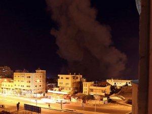 Siyonist İsrail Ateşkese Rağmen Gazze'yi Vurdu