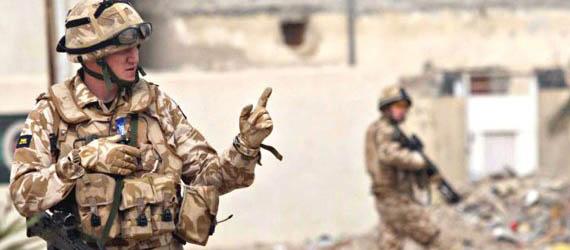 İngiliz Komandoları IŞİD'i Karadan Vuruyor