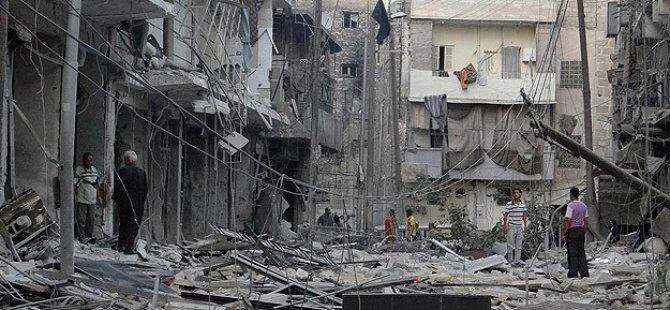 Halep'e Varil Bombalı Saldırı: 18 Şehit