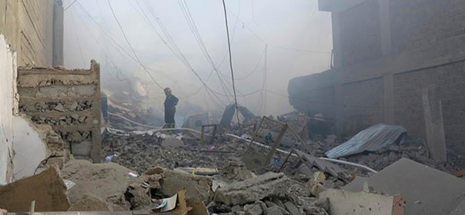 Anbar'a Varil Bombası Yağıyor!