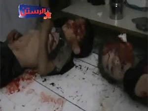 Esed, Humus-Rastan'da Yine Katliam Yaptı (VİDEO)