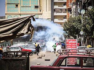 Mısır'da Rabia Yürüyüşüne Müdahale