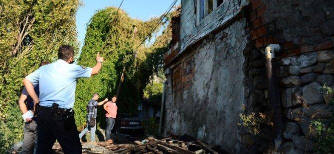 Suriyelilerin Kaldığı 3 Evde Yangın