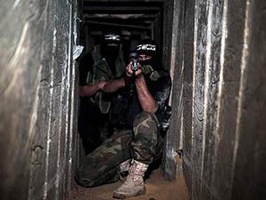 Kassam Tugaylarının Tünel ve Mevzileri (FOTO)