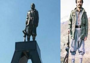 Silahlı PKK'lı Heykeli İçin Yıkım Kararı Alındı