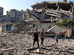 Gazze'de Şehit Sayısı 2047'ye Yükseldi
