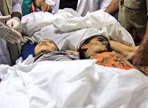 İsrail, Şehitlerin Cenaze Törenine de Saldırdı