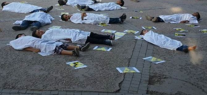 Ankara'da Esed Rejiminin Katliamları Lanetlendi