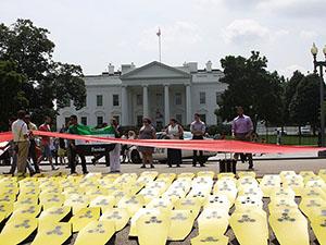 Doğu Guta Katliamı'nda Ölenler Washington'da Anıldı