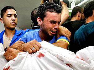 Gazze'de Şehit Sayısı 2.091'e Yükseldi