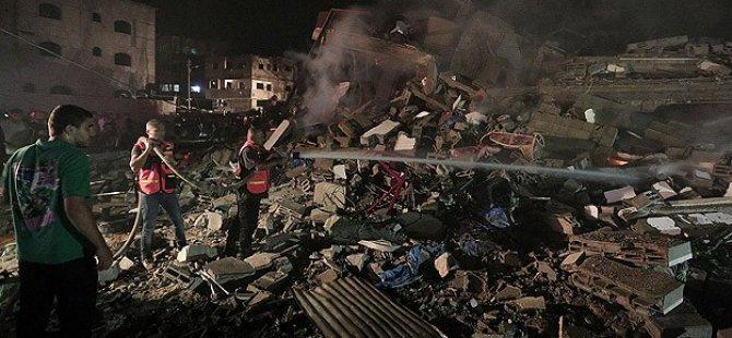Siyonist İsrail Saldırısında 4 Şehit, 50 Yaralı