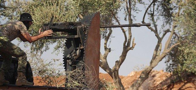 Halep'te Direniş Örgütlerinden IŞİD'e Ortak Operasyon