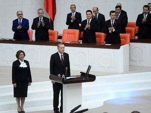 12. Cumhurbaşkanı Erdoğan Yemin Ederek Görevine Başladı