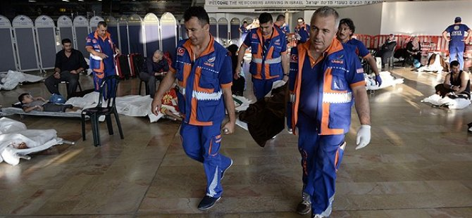 Gazzeli Yaralılar Türkiye'ye Getirilmeye Devam Ediliyor