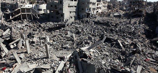 İsrail İnşaat Malzemelerinin Girişine İzin Vermedi