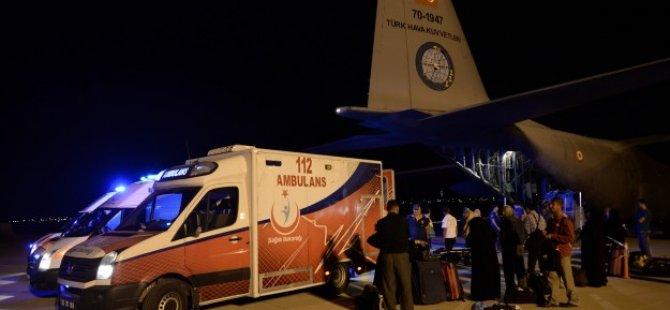 Gazzeli 33 Yaralı Daha Türkiye'ye Getirildi