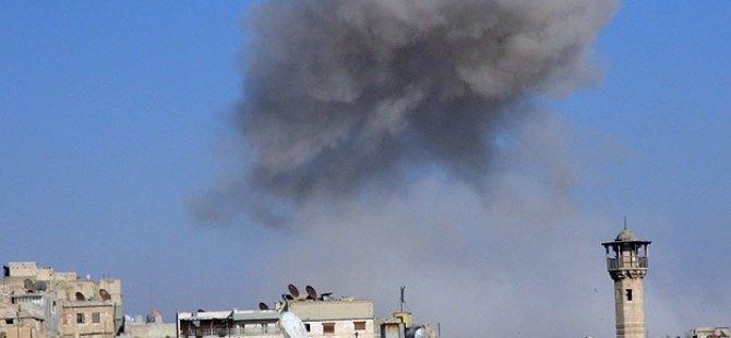 Esed Suriye'de Varil Bombası İle Katletmeye Devam Ediyor