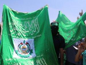 Mescid-i Aksa'da Hamas'a Destek Eylemi