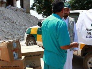 İHH, Suriyeli Mazlumlara İlaç Olmaya Devam Ediyor