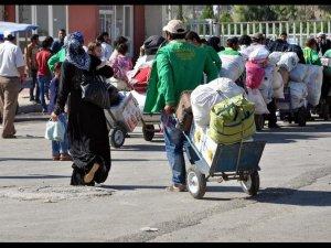 400 Sığınmacı Suriye'ye Döndü