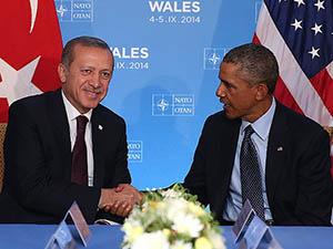 Cumhurbaşkanı Erdoğan, Obama ile Görüşüyor