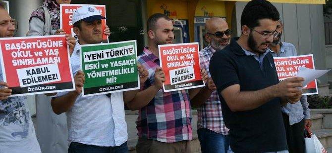 Özgür-Der Antalya: Okullarda Başörtüsü Sınırlamasına Son Verilsin!