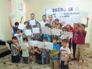 Özgür-Der Tatvan Şubesi Yaz Kur'an Kursları Sona Erdi