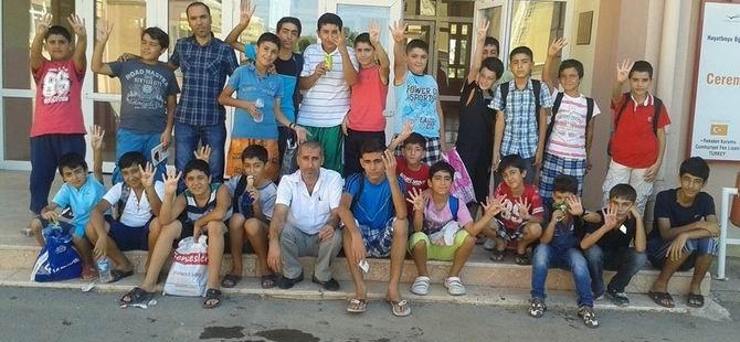"""Özgür-Der Diyarbakır Şubesi """"Yaz Okulu"""" Programı Sona Erdi"""