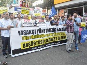 """Diyarbakır Özgür-Der: """"Başörtüsü Yasağı Tarihin Çöplüğüne Gömülmelidir"""""""