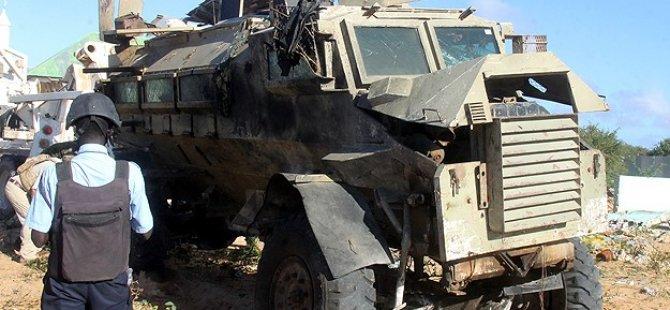 Somali'de Afrika Birliği Konvoyuna Bombalı Saldırı