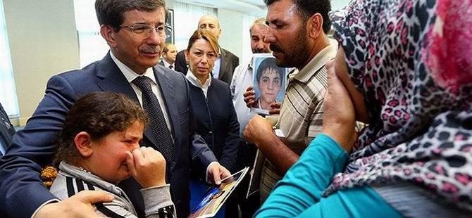 Eylem Anneleri Davutoğlu'yla Görüştü