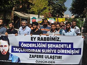 Ahrar Şehitleri Diyarbakır'dan Selamlandı