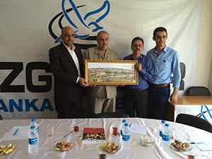 Türk Arap İlişkileri Merkezi'nden Ankara Özgür-Der'e Ziyaret