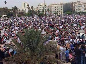 Libya'da Darbe Karşıtı Eylemler Devam Ediyor