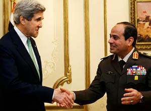 Darbeci Mısır ve Arap Birliğinden Koalisyona Destek