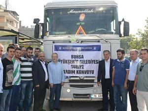 Bursa Halkı Suriyeli Mazlumları Unutmadı!