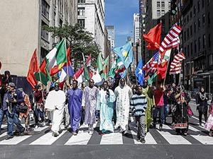 New York'ta Müslüman Günü Yürüyüşü