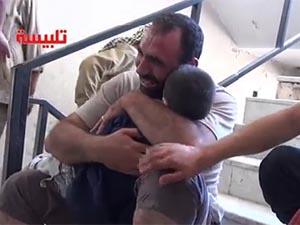 Esed'den Humus Telbise'de Bir Katliam Daha (VİDEO)