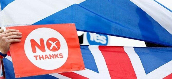 İskoçya Referandumda Ayrılmama Kararı Aldı