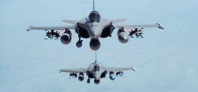 ABD ve Ortakları İki Günde IŞİD'i 39 Kez Vurdu