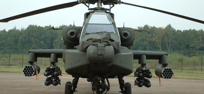 ABD'den Mısır'a 10 Apaçi Helikopter