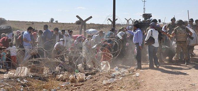 BM: 24 Saatte 70 Bin Suriyeli Giriş Yaptı