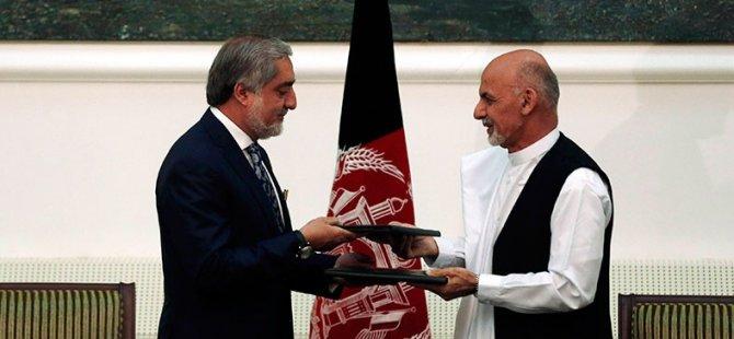 Afganistan'da Ulusal Birlik Hükümeti Kuruluyor
