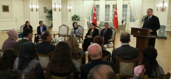 Cumhurbaşkanı Erdoğan Kurtarılan Personeli Kabul Etti