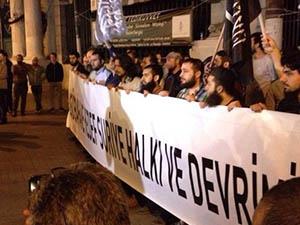 ABD'nin Saldırıları İstanbul'da Protesto Edildi